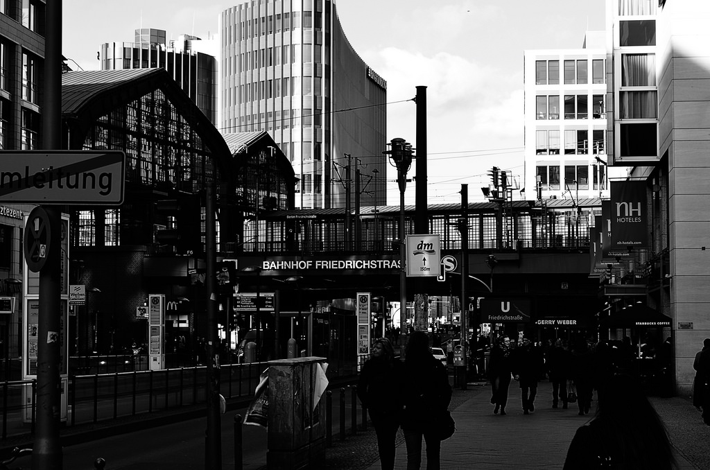 Bahnhof Friedrichstraße, Berlin Mitte, by Volker Davids