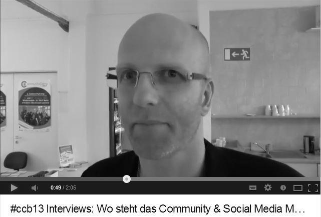 Volker Davids: Wo steht das Community und Social Media Managemement heute?