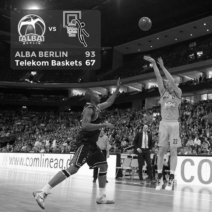 Alba Berlin gegen Telekom Baskets Bonn 11