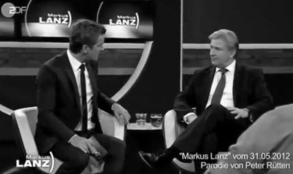 Markus Lanz und Klaus Wowereit zum Flughafen Berlin Brandenburg #BER