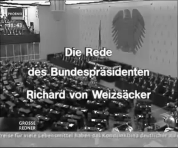 Weizsäcker Rede zum 8. Mai 1985_bw