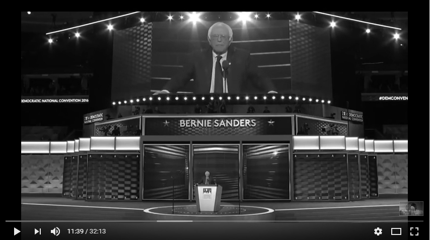 Full Speech Bernie Sanders at DNC. July 25, 2016. Democratic National Convention 2016. Philadelphia