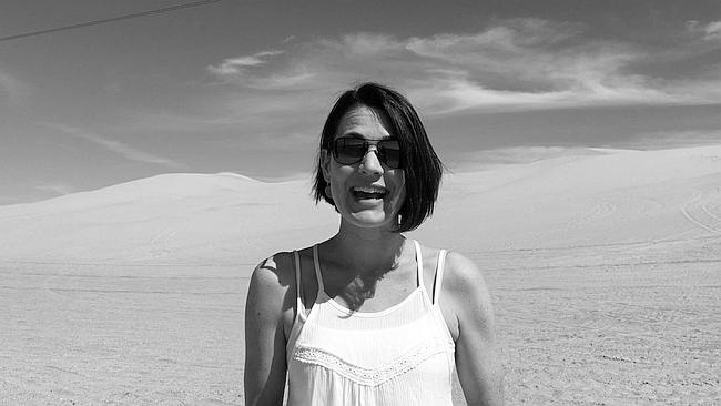 Kate Müser - California Sand dunes_bw