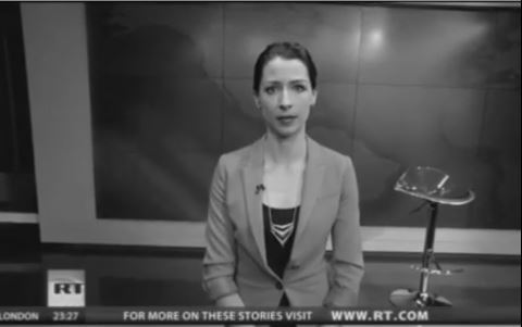Russia Today anchor Abby Martin speaks out against Russian invasion