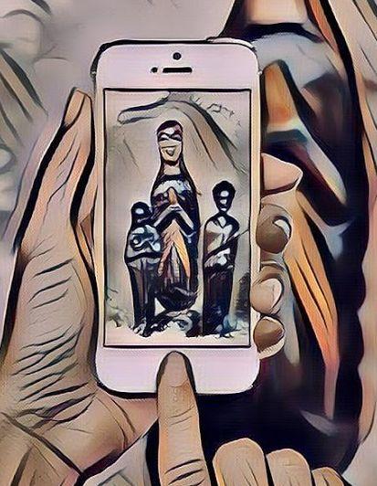 Die drei heiligen Königinnen by Volker Davids Ausschnitt